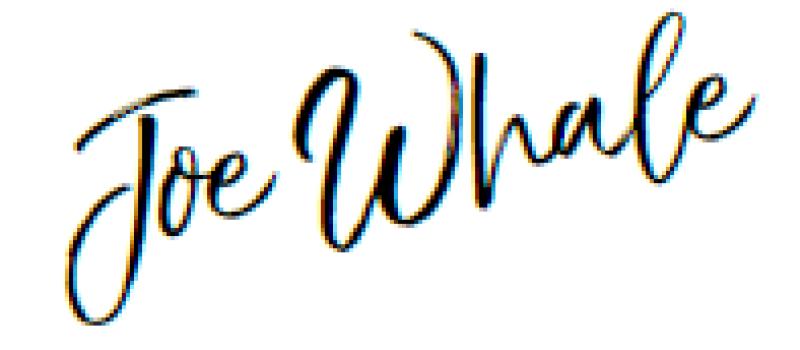 joe-whale Florian Funfack Unterschrift